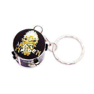 Iron Maiden Drum Keyring