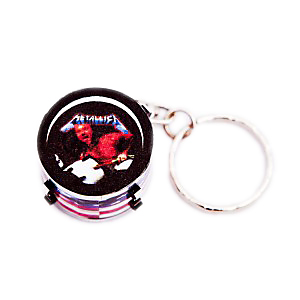 Metallica Drum Keyring